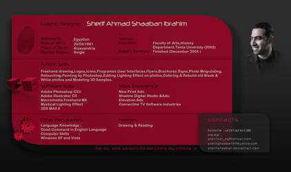 Sherif Shaaban CV by SherifShaaban