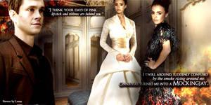 Catching Fire - Wedding dress by Leesa-M