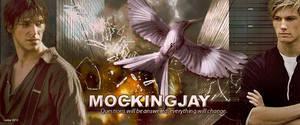 Hunger Games Mockingjay title by Leesa-M