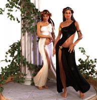 The Two Goddess by Iyakoo