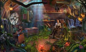 Anna's hut by NikitaBolyakov