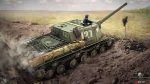 ISU - 122 by NikitaBolyakov