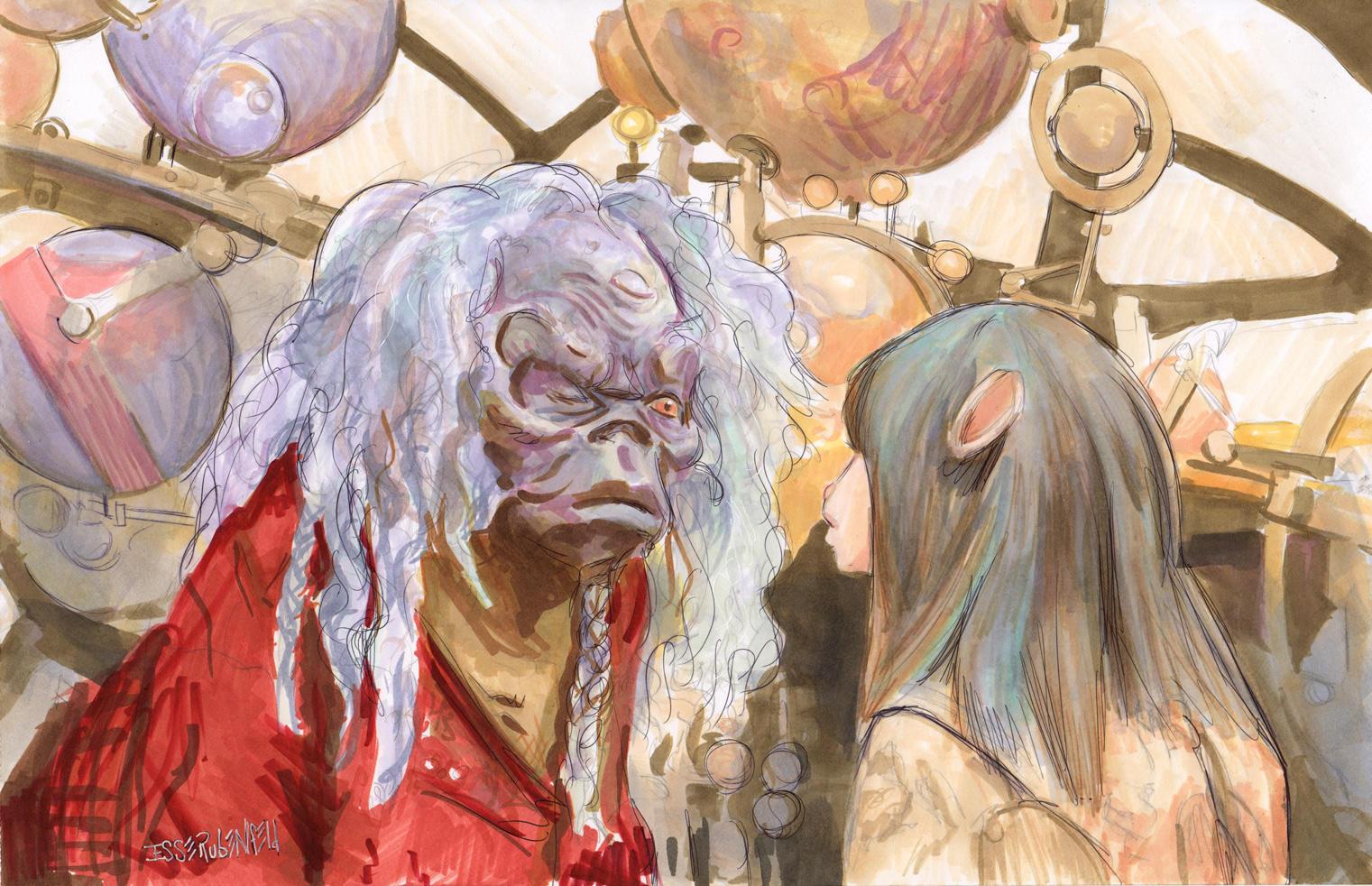 Ogra and Jen by crossstreet