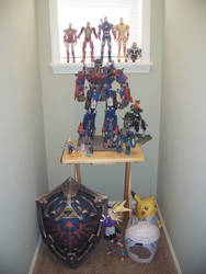 My current collection of Papercraft models (2/14) by Arc-Caster135