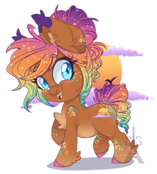 SunKiss Reverie (Chibi) by Silent-Shadow-Wolf