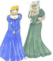 Seras and Integra in Victorian by Willowanderer