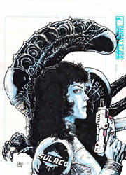 Ripley-Alien Sketch by Darry