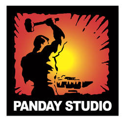 Panday Studio logo colored by Darry
