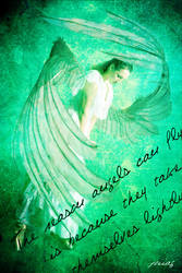 Angel in green by joiiag