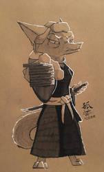 Fuyumori Shiroki by ASomberFox
