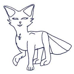 Sketchy YCH FoxFan (OPEN) by Flimmi