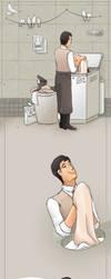 Medic does Laundry by UmmuVonNadia