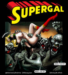 Supergal - 1 Breeding Pet vs 100 Monsters by DrVillain