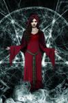 Corrupted Dawn: Satanic Priestess (Gothic) by DrVillain