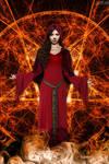 Corrupted Dawn: Satanic Priestess (Blaze) by DrVillain