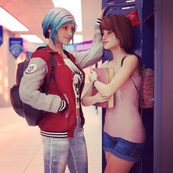 LIS meets normal high school  by TheArcadian0125