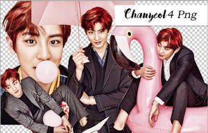 Chanyeol Femina Magazine PNG by Alkindii