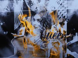 Queen Of Fire by Alkindii
