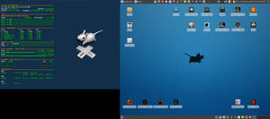 March Desktop 2015 - Arch Linux and Xfce by hamishpaulwilson