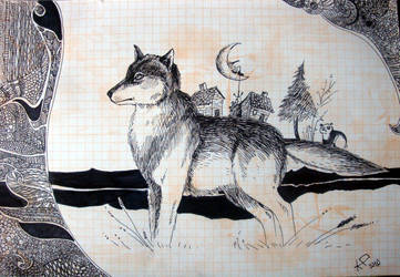 wolf tale by windinthehair