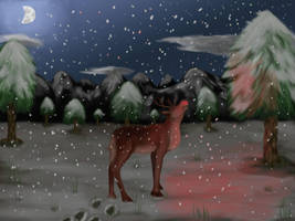 Rudolph the Red Nosed Reindeer by FelonDog