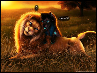 The Lion and the Wolf by FelonDog