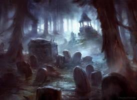 Haunted Fengraf by AdamPaquette