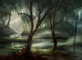 Swamp (MPS Lands) by AdamPaquette