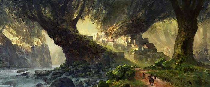 Setessa (THEROS) by AdamPaquette