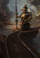 Sentinel Dispatch by AdamPaquette