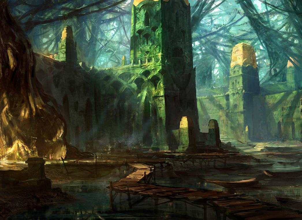 Swamp (Alt) by AdamPaquette