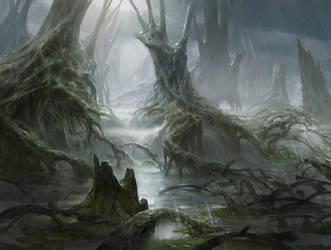 Swamp by AdamPaquette