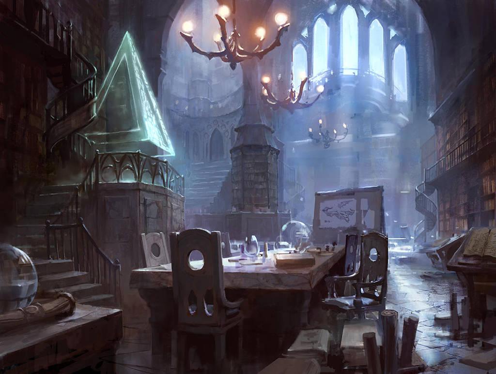 Jace's Sanctum by AdamPaquette