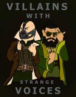 Villains with Strange Voices by Bleu-Ninja