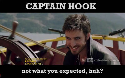 Captain Hook OUAT by irina-bourry