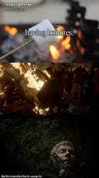 Bonfire - a bit not good... by Aine0686