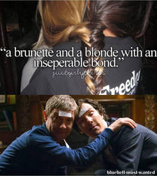 Brunette And Blonde - Sherlock by Aine0686