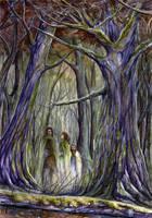 Fangorn forest by Bandea