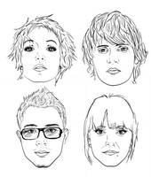 headshots. by depairfactor