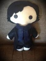 Sherlock Holmes Plushie by jasmineofderpsalot