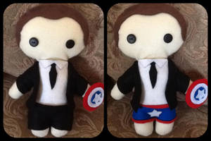 Agent Phil Coulson Plushie by jasmineofderpsalot