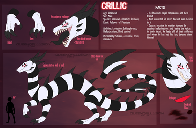 Crillic Ref 2018 by QueenOfIllusion