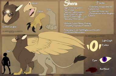 Queen Shera ref 2018 by QueenOfIllusion