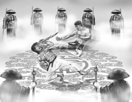 Bruce Lee Torunament by natebarnes