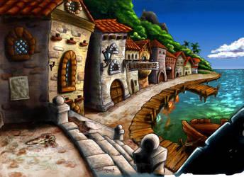 Phatt Island from Monkey Island 2 by Cocoloco97150