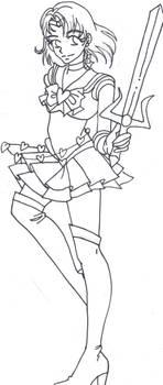 Sailor silver dragon rqst by TechnoPoptart