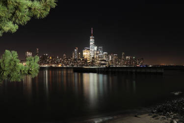 New York through Hudson river by notroot