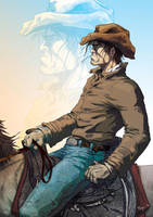 Lonesome Cowboy by TBoy85