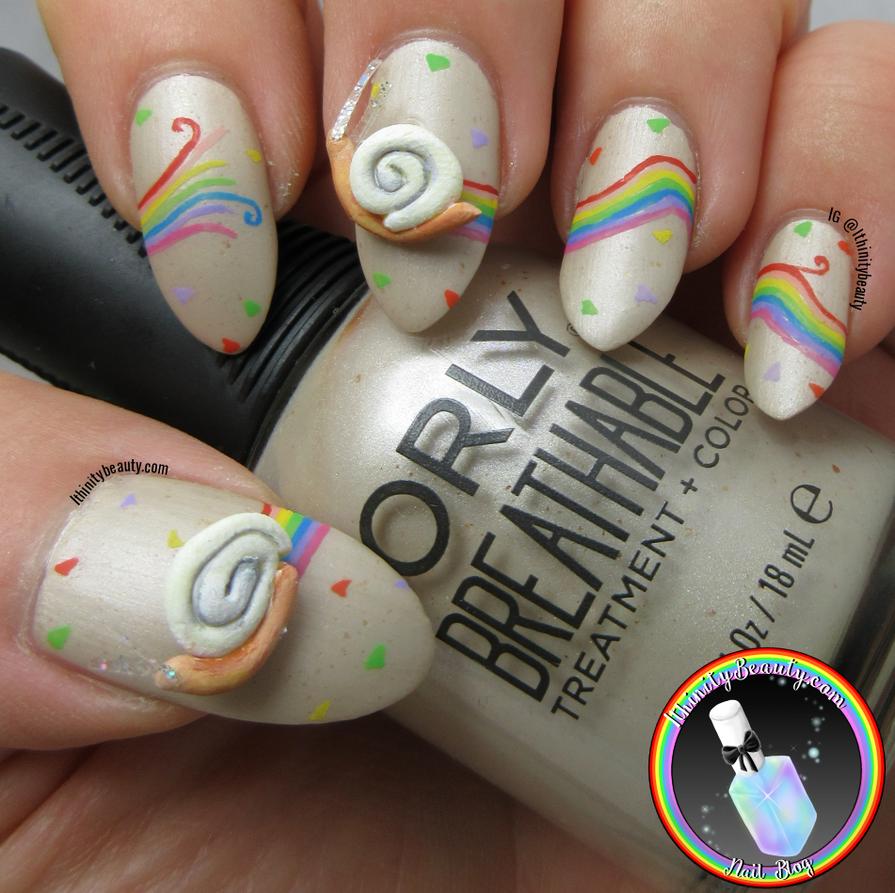 3D Snail Nails by Ithfifi