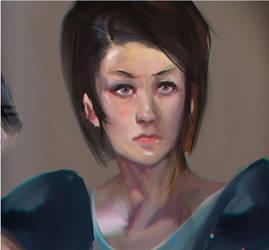 Jill Valentine by yusefth
